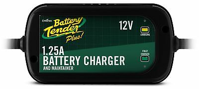 Battery Tender 022-0185G-dl-wh Black 12 Volt 1.25 Amp Plus Battery Charger/Ma...