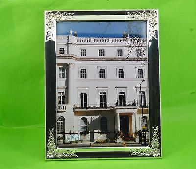 """Vintage Spanish 925 sterling silver photograph frame Alcudia S.A 8.1/2"""" x 6.1/2"""""""