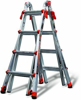 Little Giant 17-Foot Velocity Multi-Use Ladder, 300-Pound Duty Rating, 15417-...