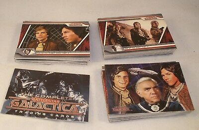 THE COMPLETE BATTLESTAR GALACTICA  Complete Trading Card Set  2004 Rittenhouse