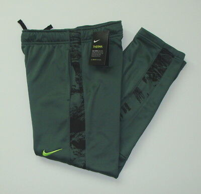 Nike Big Boy's Youth Dri-Fit Therma Fit KO 3.0 Fleece Pants Sz S M XL 937988
