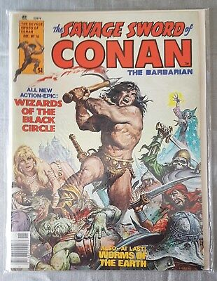 The Savage Sword of Conan #16 (Dec 1976, Marvel)