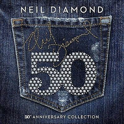 Neil Diamond 50th Anniversary Collection 3 CD NEW sealed
