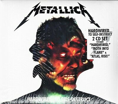 Metallica Hardwired: To Self-Destruct + booklet 3 CD NEW sealed