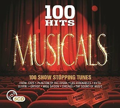 V/A 100 Hits: Musicals  5 CD NEW sealed