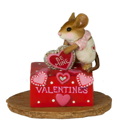 HER SECRET VALENTINE BOX by Wee Forest Folk, WFF# M-189c, LTD 2018