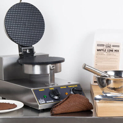 """Carnival King WCM1  8"""" Waffle Cone Maker - 120V  FREE SHIPPING US ONLY"""