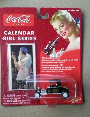 Johnny lighting White Lightning Coca Cola '20 Ford T-Bucket