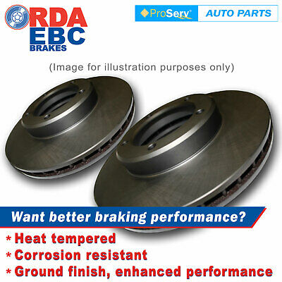 Front Disc Brake Rotors for Honda Prelude VTiR 2.2L DOHC (282mm Dia) 1997-2001