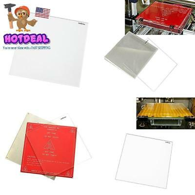 Signstek 3D Printer Mk2 Mk3 Heated Bed Tempered Borosilicate Glass Plate 213X Ne