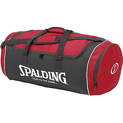 Spalding Tube Sports Bag - Red, Large