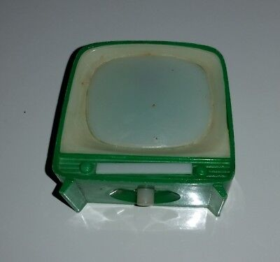 Small TV viewer toy - Made in Hong Kong vintage television Sleeping Beauty story