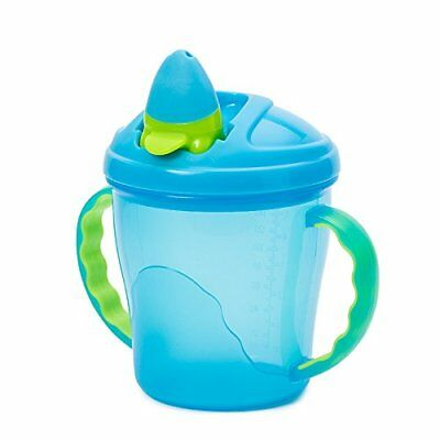 Blue Vital Baby Free Flow Cup Toddlers Feeding Bottle