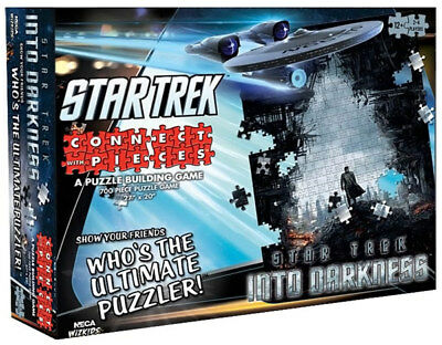 Star Trek - Into Darkness Connect With Pieces 700 Piece Jigsaw Puzzle Game NEW