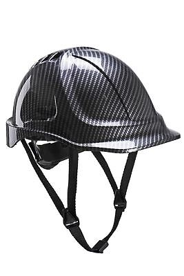 Portwest Safety Helmet Endurance Carbon Bump Cap Head Protection PC55