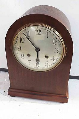 antique bracket clock Edwardian