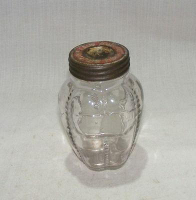 Old Antique Original Glass Victorian Crown Shape Jar Southwells Confederacy