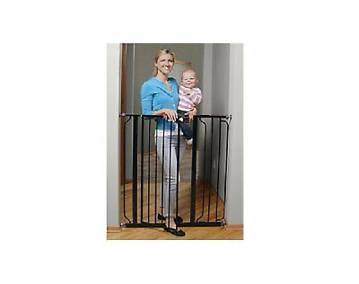 Regalo Easy Open EXTRA WIDE Pet Pets Baby Babies Child proof Tall Gate Black NEW