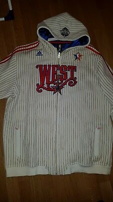 NBA All Star West 2008 Warm Up Jacke