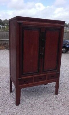 Antique Chinese Wedding cabinet / Wardrobe - personally imported from Shanghai