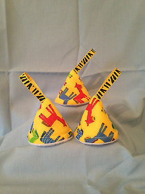 baby boy nappy pee pee teepee (set of 3) Baby Shower/Gift Idea(yellow horse)