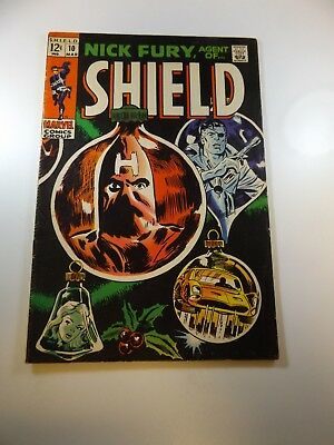 Nick Fury Agent of SHIELD #10 FN- condition Huge auction going on now!