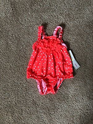 Baby Girl Bathing Suit 12 Months