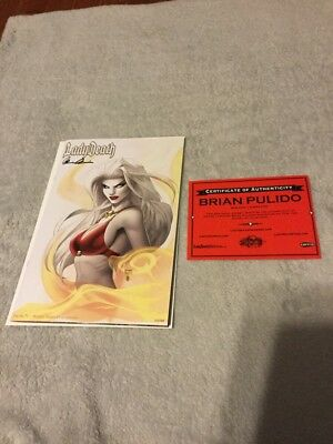 Lady Death Pin Ups #1 Michael Turner Pearl Variant Edition, 200 Made, NM+/M 9.9?
