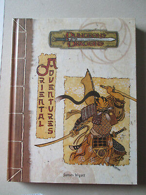 Oriental Adventures - D&D 3 Dungeons and Dragons Pathfinder
