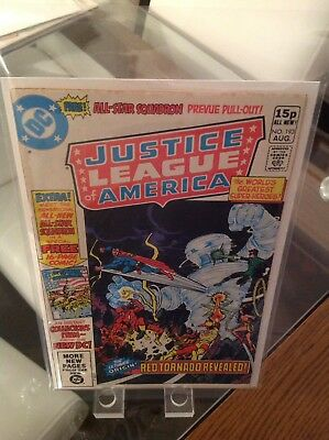 Justice League Issue 193 Vol 1 1st Appearance Of All-Star Squadron (Team)