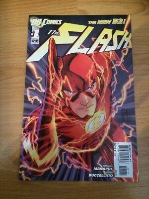 DC Comics The New 52 #1 The Flash First Press Edition Rare Number One