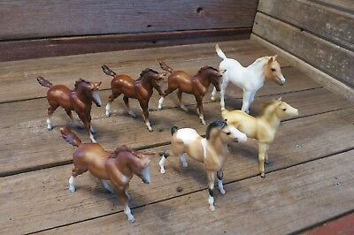 Vintage Breyer Horse Lot Classic Vintage Retired Ponies!