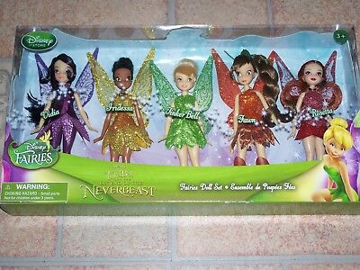 Disney Fairies Mini Doll Set - Legend of the NeverBeast Brand New Sealed!