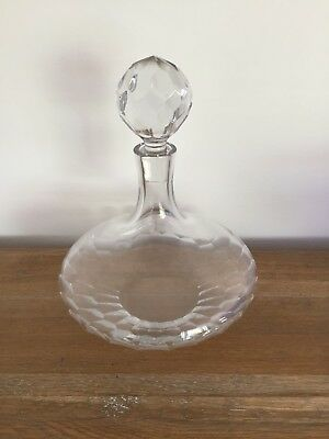 Royal Doulton Crystal Decanter with Stopper