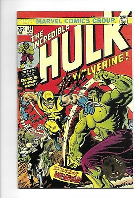 Incredible Hulk #181 Euro Variant - Gold Edition - LTD. 111 - NM/M - HIGH GRADE!