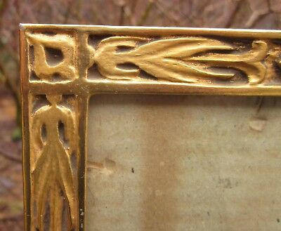 c1920 Excellent J.H.MILLER ART DECO ARTS CRAFTS Gilded Antique BOSTON School Frm