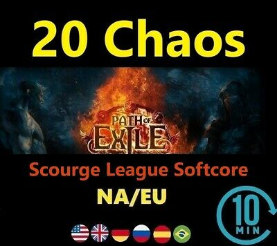 20 Chaos Orb SYNTHESIS League Softcore (Path of Exile POE SC ) 20c EU/NA/UK