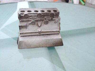 International Harvester Paper Weight,engine Block,i.h.c,indianapolis Works
