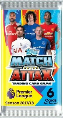 NEW Match Attax Trading Card Game Booster from Mr Toys