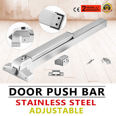 Door Push Bar Safety Exit Stainless Steel Heavy Duty Panic Exit Device Pro