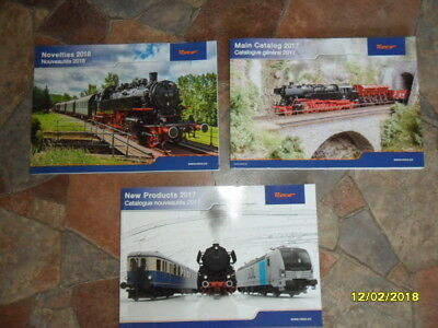 Roco catalogues group of 3. all new
