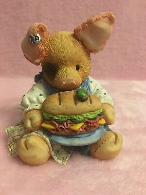 "Adorable This Little Piggy ""This Little Piggy Ate Roast Beef"" 1994 Enesco"