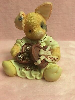 "Adorable This Little Piggy ""You're Sow Sweet"" 1995 Enesco Figurine"