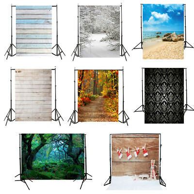 3X5FT Abstract Wooden Wall Backdrop Vinyl Photography Studio Photo Background