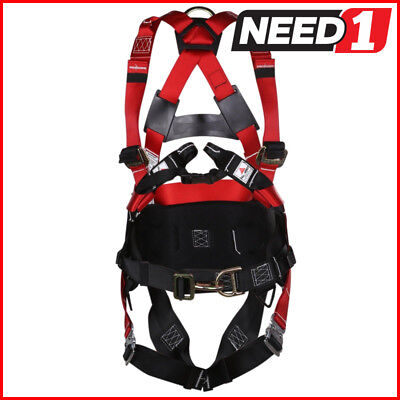 MSA Workman Miners Full Body Harness Incorperating Miners Belt & Bayonet Leg