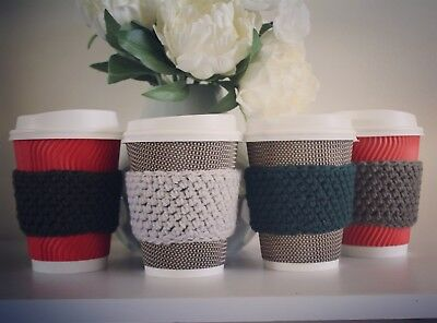 Unique Coffee Cup Sleeve / Cover / Warmer / Cozee (Buy 1 Get 1 free)
