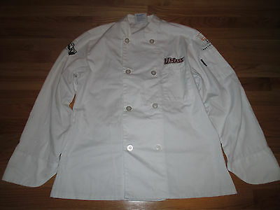 UMASS Embroidered MENU MASTERS Restaurant (SM) Culinary Jacket