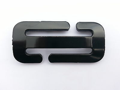 Locking Clip NEW Gated Buckle for car seat Belt BABY/CHILD Restraint & instruct.