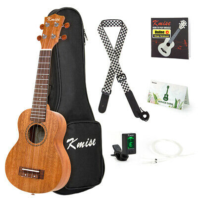 Mahogany Ukulele Tenor Ukelele Uke Hawaii Guitar 26 inch for Beginner