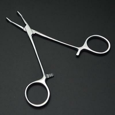 1Pcs New Forceps Lock Tweezers Medical Surgical SS Hemostatic Clamp 12.5cm